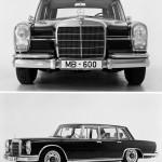 Mercedes 600, 1963.