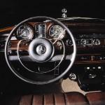 Planche de bord de la Mercedes 600