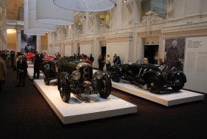 Bentley Blower (1929) et Mercedes SSK Comte Trossi (1930) © Vincent Desmonts