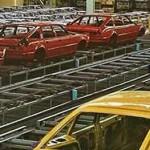 Les chaînes de la SD1 à l'usine de Solihull.