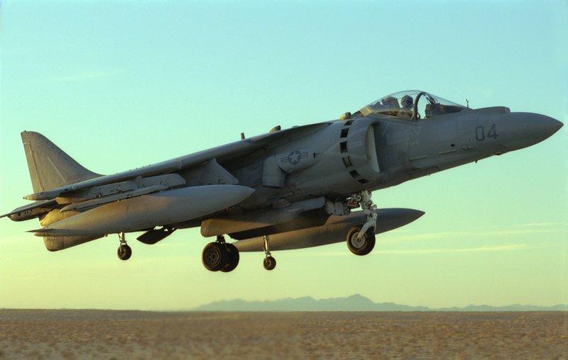 McDonnell Douglas AV-8B Harrier II (image du film)