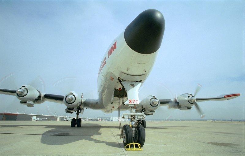 Lockheed Constellation (image du film)