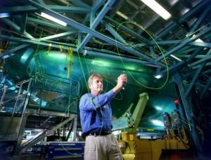 Mike Carriker, pilote d'essai en chef de Boeing (image du film)