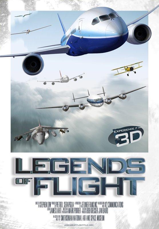 L'affiche du film «Legends of Flight»