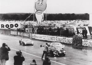 Superbe triplé au finish : Le Mans 1966
