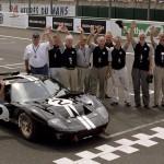 Célébration des 40 ans de la victoire de 1966 au Mans Classic 2006.