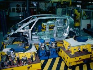 L'Avantime à l'usine Matra de Romorantin