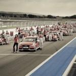 La grille de départ de l'Audi Endurance Expérience