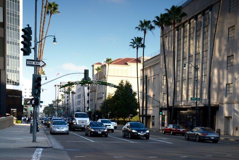Beverly Hills (pas de flic sur la photo, désolé)