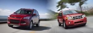 Le nouveau Ford Escape (Kuga chez nous) et l'ancien. Ça change, hein ?