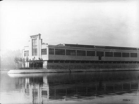 Les usines Renault de Billancourt
