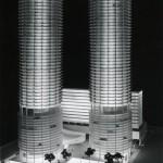 Marina City : maquette du projet
