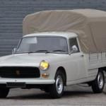 La Peugeot 404 Pick-up avec moteur diesel Indenor : du collector qui fait rêver !