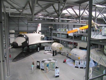 La navette spatiale Bourane au musée de Speyer (photo CC Flickr/mpieracci)