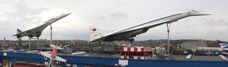 Les Concorde et Tupolev Tu-144 du musée de Sinsheim (photo CC Flickr/pilot_micha)