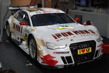 L'Audi RS5 DTM d'Adrien Tambay.