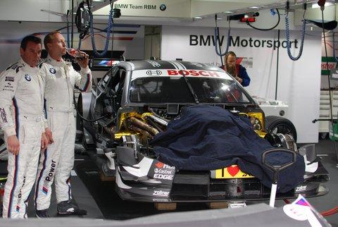 La BMW M3 DTM de l'américain Joey Hand.
