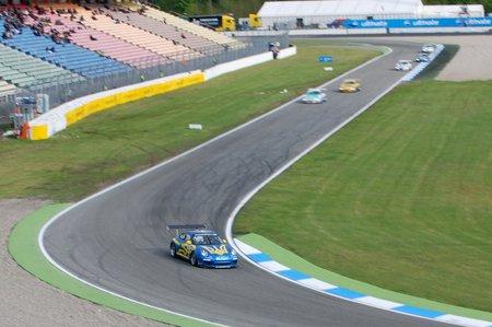 Le français Kévin Estre en Porsche Carrera Cup Deutschland.