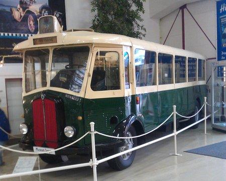 Au musée de Speyer, on trouve même un autobus parisien !