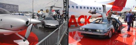 """Une Porsche 911 chez Cirrus, et une DeLorean """"Retour vers le Futur"""" chez ATR !"""
