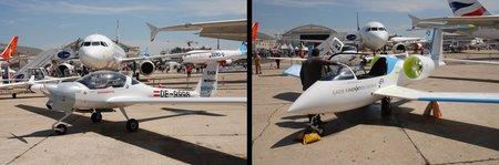 À gauche, un avion hybride. À droite, un avion électrique !