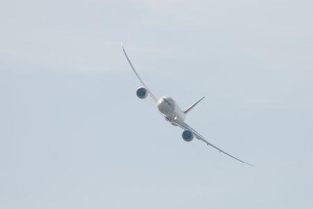 Le Boeing 787 (ces ailes !)
