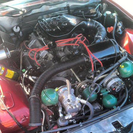 V6 à carburateurs de Citroën SM Maserati