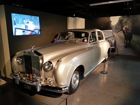 La Rolls-Royce Silver Cloud II de Max Zorin (Christopher Walken) dans « Dangereusement vôtre » (« A View to a Kill », 1985).