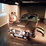 """L'Aston Martin V8 de """"Tuer n'est pas jouer"""" (""""The Living Daylights"""", 1987)."""