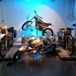 Quelques motos des différents épisodes de la série...