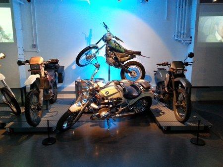 Quelques motos des différents épisodes de la série…