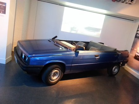 La Renault 11 «Cabriolet» de «Dangereusement vôtre» («A View to a Kill», 1985).