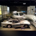 """L'une des maquettes imprimées en 3D de l'Aston DB5 et utilisées pour la scène finale de """"Skyfall"""" (2012)."""
