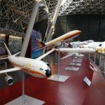 Maquettes des différents modèles Airbus