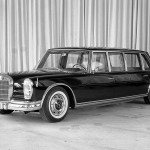 Mercedes 600 Pullman blindée