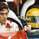Ayrton Senna au Nürburgring, en Allemagne (1984). © Angelo Orsi