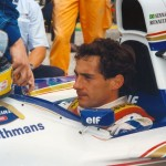 Ayrton Senna au Grand Prix de Saint-Marin (1994). © Karin Sturn