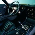 Planche de bord d'une Lamborghini Miura