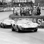 Deux GT40 Mk.I au Mans en 1968