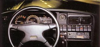 Oui, bon, côté présentation intérieure, c'était pas trop ça… (Opel Lotus Omega)