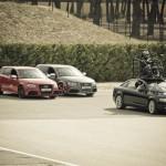 Atelier cascades de cinéma à l'Audi Endurance Expérience