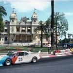 Patrick Depailler et sa BMW M1 Procar en ouverture du Grand Prix de Monaco 1979