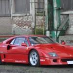 Belle de loin, loin d'être belle, la Ferrari F40 ex-Mansell !
