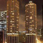 Marina City (photo CC Flickr/moaksey)