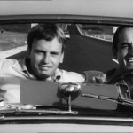 Vittorio Gassman et Jean-Louis Trintignant