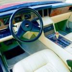 Le nouveau tableau de bord à écrans CRT des Aston Martin Lagonda Series 2