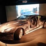 """L'Aston DBS, qui souffre à nouveau dans """"Quantum of Solace"""" (2008)."""